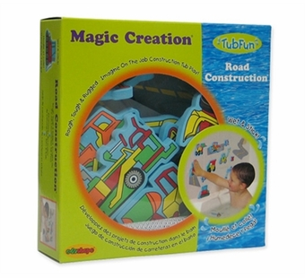 Edushape <br />Construction Stickers Bath Toy
