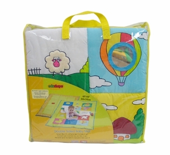 Edushape <br />Double Sided Baby Mat