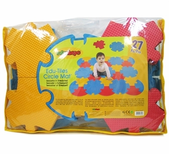 Edushape <br />Edutiles Circle Mat 27 pieces