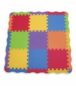Edushape <br />Edutiles Play Mat with 25 Pieces