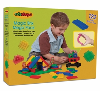 Edushape <br />Magic Brix 122 pieces