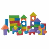 Edushape <br />Textured Colored Blocks 30 pieces