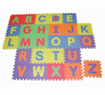 Edushape <br />Upper Case Letters Play Mat