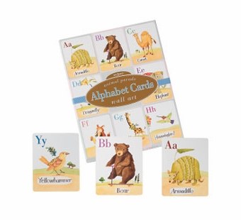 eeBoo <br />Animal Parade Wall Cards