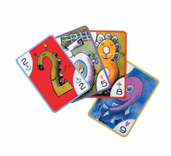 eeBoo <br />Crazy Eights Card Game