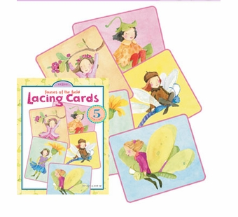 eeBoo <br />Fairies of the Field Lacing Cards