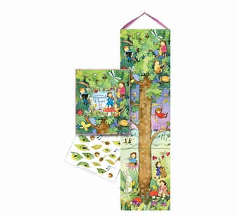 eeBoo <br />Fairy Tree Growth Chart