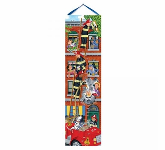 eeBoo <br />Firemen Growth Chart