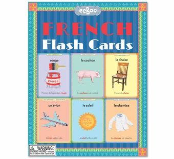 eeBoo <br />French Flash Cards