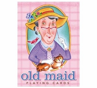 eeBoo <br />Old Maid Card Game