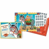 eeBoo <br />Pin the Tail on the Donkey Game