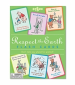eeBoo <br />Respect the Earth Flash Cards