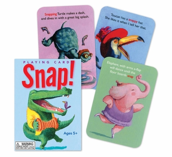 eeBoo <br />Snap! Card Game