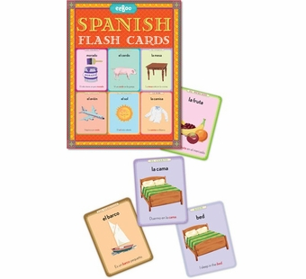 eeBoo <br />Spanish Flash Cards