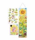 eeBoo <br />Sunflower Growth Chart