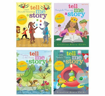 eeBoo <br />Tell Me a Story Assortment Card Set