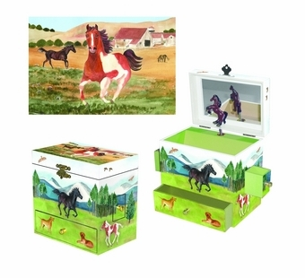 Enchantmints <br />Graceful Gallop Music Box