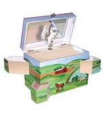 Enchantmints <br />Hideaway Horse Musical Jewelry Box