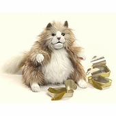 Folkmanis Puppets <br />Fluffy Cat Puppet