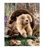 Folkmanis Puppets <br />Golden Retriever Puppet