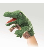 Folkmanis Puppets <br />Little Alligator Puppet