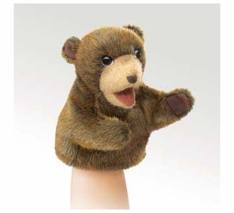 Folkmanis Puppets <br />Little Brown Bear Puppet