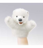 Folkmanis Puppets <br />Little Polar Bear Puppet