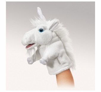 Folkmanis Puppets <br />Little Unicorn Puppet
