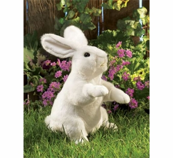 Folkmanis Puppets <br />White Rabbit Puppet