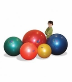Fun & Function <br />Therapy Ball Blue � 33 inch
