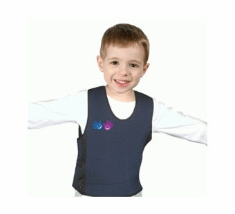 Fun & Function <br />Weighted Compression Vest Blue (Large)