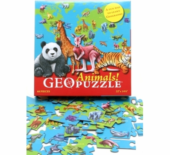 Geotoys <br />Geo Puzzle Animals