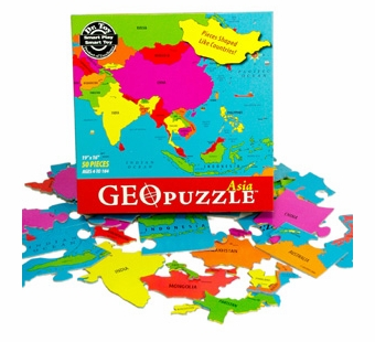 Geotoys <br />Geo Puzzle Asia
