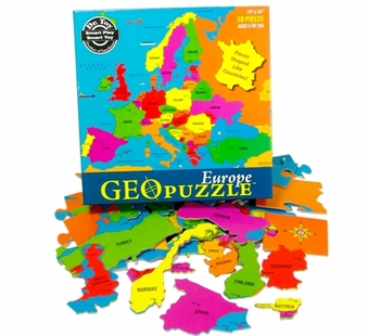 Geotoys <br />Geo Puzzle Europe