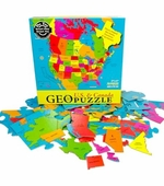 Geotoys <br />Geo Puzzle US/Canada