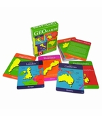 Geotoys <br />World Flashcards Game