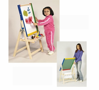Guidecraft <br />4 in 1 Flipping Floor Easel