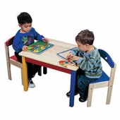 Guidecraft <br />Children's Moon & Stars Table & Chairs