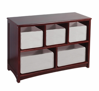 Guidecraft <br />Classic Espresso Children's Bookshelf