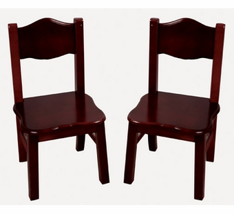 Guidecraft <br />Classic Espresso Children's Chair Set