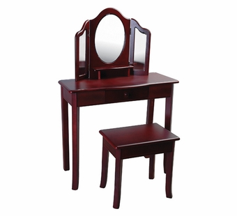 Guidecraft <br />Classic Espresso Children's Vanity & Stool
