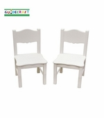 Guidecraft <br />Classic White Children's Chair Set