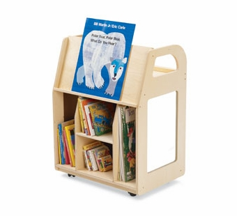 Guidecraft <br />Classroom Book Trolley