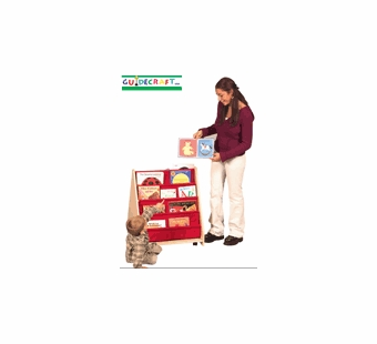 Guidecraft <br />Classroom Double Sided Canvas Book Display