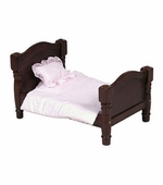 Guidecraft <br />Doll Bed (Espresso)