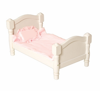 Guidecraft <br />Doll Bed (White)