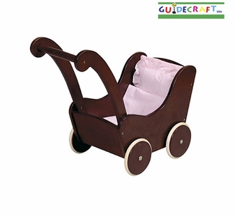 Guidecraft <br />Doll Buggy (Espresso)