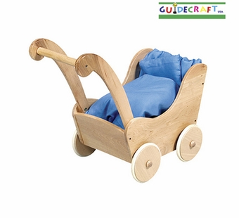 Guidecraft <br />Doll Buggy (Natural)