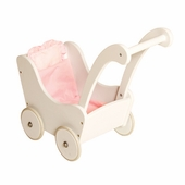 Guidecraft <br />Doll Buggy (White)