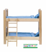 Guidecraft <br />Doll Bunk Bed (Natural)